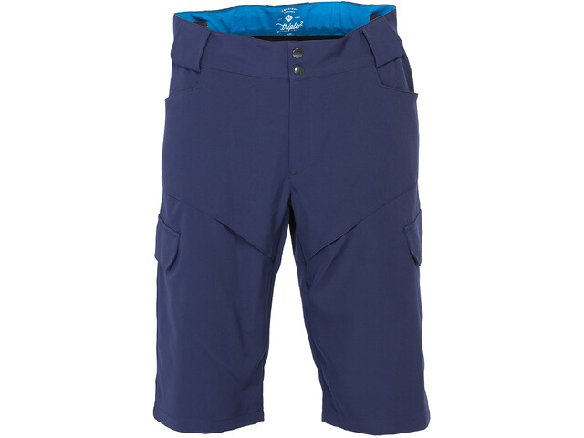Triple2 Bargup Shorts Mannen Heren, blauw